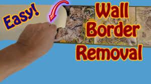 wallpaper border removal