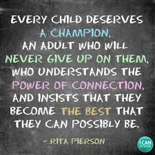 Every child deserves a champion, an... - The I CAN Network | Facebook