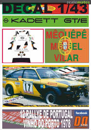 Opel Kadett Gt E Gg Dz 27x Opel Euro Handler Team Decal Designers 3 733