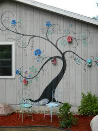 Murals For Outside Walls Beautiful Outdoor Garden Decor Independence