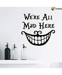 Rotumaty Halloween Smiling Face Thriller Wall Stickers Decoration Trick Game Bedroom Wall Decal Removable Vinyl Home