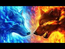 fire wolf and ice wolf you