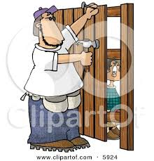 Boy Watching A Man Build A Wooden Fence Posters Art Prints By Interior Wall Decor 5924