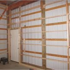 pole barn interior wall covering ideas