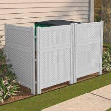 How To Hide Garbage Cans Bing Images Outdoor Screens Outdoor Trash Cans Screen Enclosures