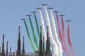 Frecce Tricolori domani a Cagliari e Palermo: quando passano ...
