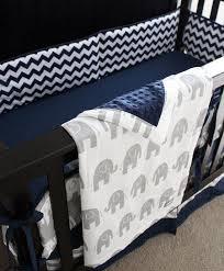 baby room navy and gray crib bedding