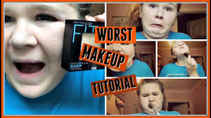 the worst makeup tutorial ever you