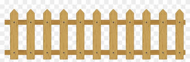 Picket Fence Cartoon Clip Art Wooden Fence Free Transparent Png Clipart Images Download