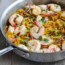 Paleo Shrimp Scampi with Beet Noodles ...