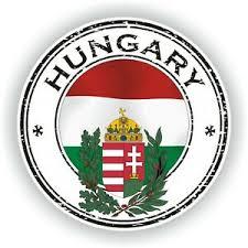 Seal Sticker Of Hungary Stamp Bumper Roundel Laptop Car Truck Ebay