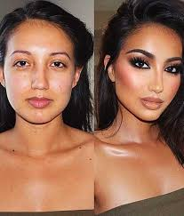 makeup before and after photos