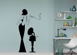 Contemporary 1920s Woman Wall Stickers