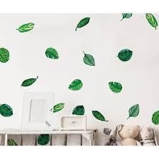 Bayou Breeze Tropical Plant Leaves Wall Decal Wayfair