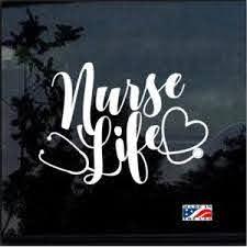 Nurse Decals Custom Sticker Shop