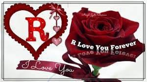 r letter love whatsapp status video