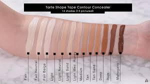 NARS Soft Matte Complete Concealer VS Tarte Shape Tape | Shape ...