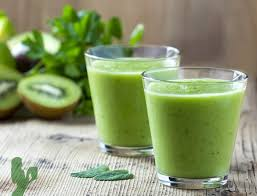 kiwi ginger weight loss green smoothie
