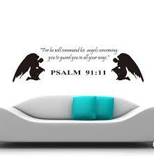 Wall Decal Psalms 91 11 Bible Thebestdeals