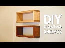 how to build diy floating shelf with