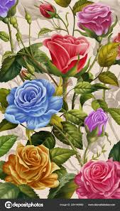 fl background colorful rose flowers
