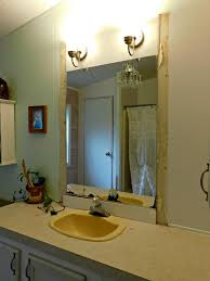 safely remove a bathroom wall mirror