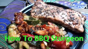 How To BBQ Sturgeon - YouTube