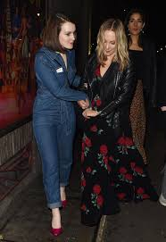 Downton Abbey stars Joanne Froggatt and Sophie McShera look all partied out  as they leave movie wrap bash