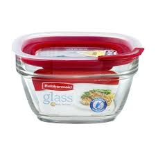 glass containers with lids storage