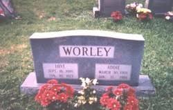 """Mary Lee """"Addie"""" Henderson Worley (1901-1994) - Find A Grave Memorial"""