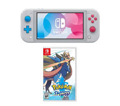 NINTENDO Switch Lite & Pokemon Sword Bundle