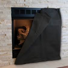magnetic fireplace blocker medium