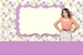 Etiquetas Stickers De Violetta Kits Para Imprimir Gratis