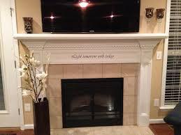 fireplace decor candles decorative