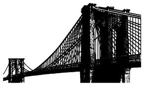 Brooklyn Bridge Wall Decal Contemporary Wall Decals By Stickerbrand