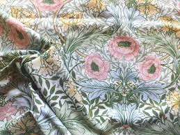 Vintage William Morris Sanderson Cotton Fabric 'Myrtle' Pastel Shades in  Collectables, Sewing/ Fabric/ Textiles, Fabric/… (With images)   Sanderson  fabric, Fabric, William morris