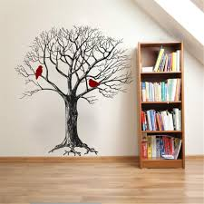 Amazon Com Quotes Art Decals Vinyl Removable Wall Stickers Tree And Cardinals Vinyl Wall Decal Sticker For Living Room Bedroom Nursery Kids Room Home Kitchen