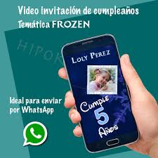 Video Invitacion Frozen Para Enviar Por Whatsapp 430 00 En