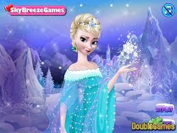 frozen make up game