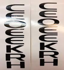Jeep Cherokee Vinyl Decals Tvd Vinyl Decals