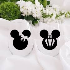 Personalised Wine Glass Decals Unicorn Mickey Mouse Minnie Winosaur Kawaii Sticker Party Custom Decal Sticker Wedding Decals Buy At The Price Of 1 13 In Aliexpress Com Imall Com