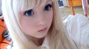 how to look like a doll make up you
