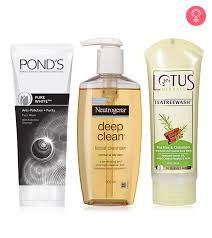 15 best face washes for oily skin of