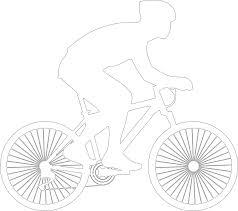 bicycle racing bicycle monochrome