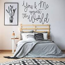 You Me Vinyl Wall Decal Bedroom Marriage Quote