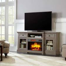 transitional fireplace tv stands