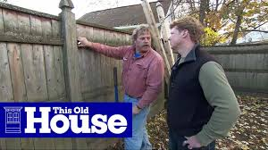 How To Replace A Rotted Fence Post This Old House Youtube