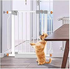 Yongyong Guardrail Expandable Extra Wide Baby Safety Gates Punch Free Walk Thru Pet Proof Fence Door Cats Cage For Balcony Indoor Anti Dog Stairway Isolation Railing Fence Pressure Mount Amazon Co Uk Kitchen Home