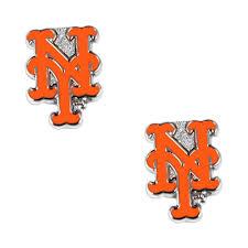New York Mets NY Post Stud Logo Earring ...