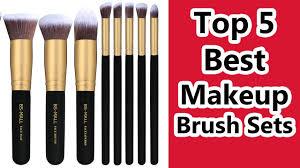 top 5 best makeup brush sets 2019 best